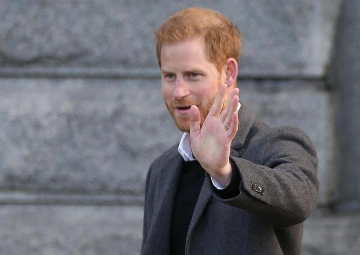 Prince Harry and Duchess of Sussex visit Birkenhead