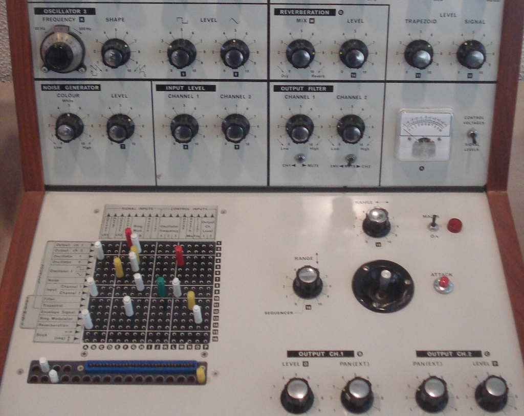 L'EMS Synthi VCS3 II